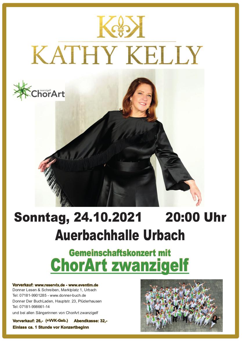 Kathy Kelly mit ChorArt zwanzigelf